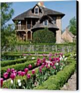 Lovely Garden And Cottage Canvas Print by Jennifer Ancker