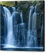 Lower Johnson Falls 2 Canvas Print by Larry Ricker