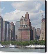 Lower Manhattan Panorama Canvas Print
