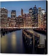Lower Manhattan Skyline Canvas Print