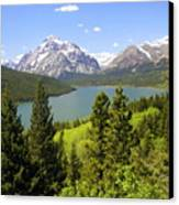 Lower Two Medicine Lake Canvas Print