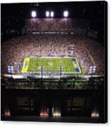 Lsu Aerial View Of Tiger Stadium Canvas Print by Louisiana State University