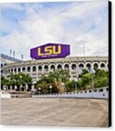 Lsu Tiger Stadium Canvas Print