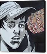 Lucille Picks Glenn Canvas Print