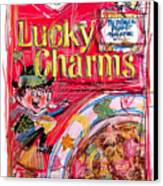 Lucky Charms Canvas Print by Russell Pierce