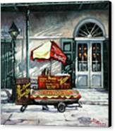 Lucky Dogs Canvas Print by Dianne Parks