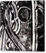 Lune Noire Canvas Print