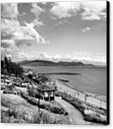 Lyme Regis And Lyme Bay, Dorset Canvas Print by John Edwards
