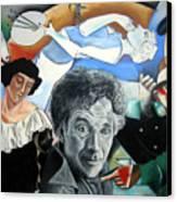 M Chagall Canvas Print
