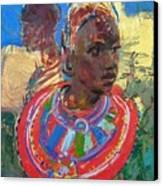 Maasai Daydream Canvas Print