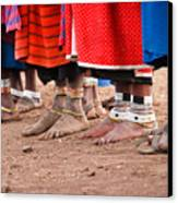 Maasai Feet Canvas Print