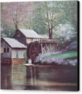 Mabry Mills Canvas Print by Charles Roy Smith