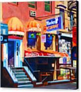Macdougal Street Canvas Print by John Tartaglione