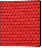 Macro Ping Pong Paddle Texture Canvas Print by Nic Taylor