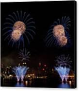 Macy's Fireworks IIi Canvas Print