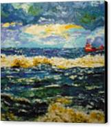 Mad Sea Canvas Print