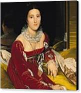 Madame De Senonnes Canvas Print by Ingres