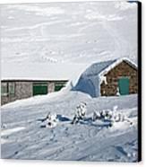 Madison Spring Hut- White Mountains New Hampshire Canvas Print