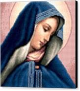 Madonna Dolorosa Canvas Print by Stoyanka Ivanova