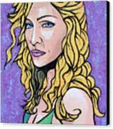 Madonna Canvas Print by Sarah Crumpler