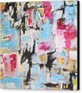 Magenta Abstract I Canvas Print