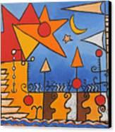 Magic Boat Canvas Print