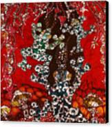 Magic Frogs Rising Canvas Print by Carol Law Conklin