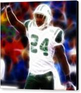 Magical Darrelle Revis Canvas Print by Paul Van Scott