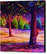 Magical Day In The Park Canvas Print