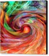 Magical Energy Canvas Print by Linda Sannuti
