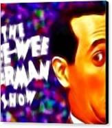 Magical Pee Wee Herman Canvas Print