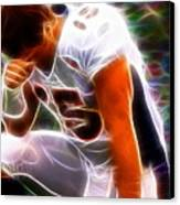 Magical Tebowing Canvas Print by Paul Van Scott