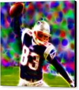 Magical Wes Welker  Canvas Print
