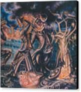 Magicians Competition Canvas Print