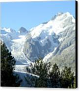 Magnificent Swiss Glacier Canvas Print