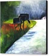 Mail Call Canvas Print