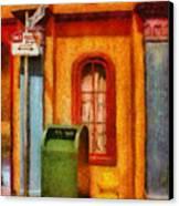 Mailman - No Parking Canvas Print