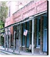 Main Street Micanopy Florida Canvas Print