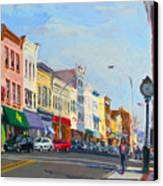 Main Street Nayck  Ny  Canvas Print by Ylli Haruni
