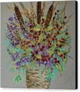 Maine Bouquet Canvas Print by Collette Hurst