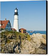 Maine Lighthouse Canvas Print