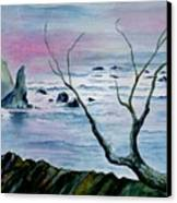 Maine Seawatch Canvas Print