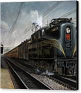 Mainline Memories Canvas Print
