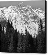 Majestic Mountains, British Columbia, Canada Canvas Print