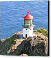 Makapuu Lighthouse 1065 Canvas Print by Michael Peychich