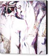 Male Female Nude   Canvas Print