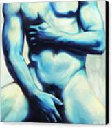 Male Nude 3 Canvas Print by Simon Sturge