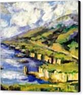 Malibu Looking North Canvas Print