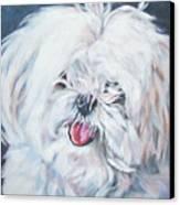 Maltese Canvas Print by Lee Ann Shepard
