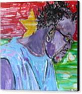 Man From Burkina Faso Canvas Print